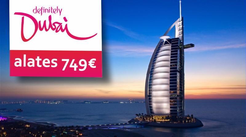 Välkpakkumine: 9-ks ööks Dubaisse hinnaga al. 749€