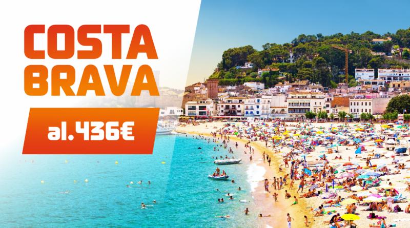 Costa Brava 2017! Hinnad al 436 EUR