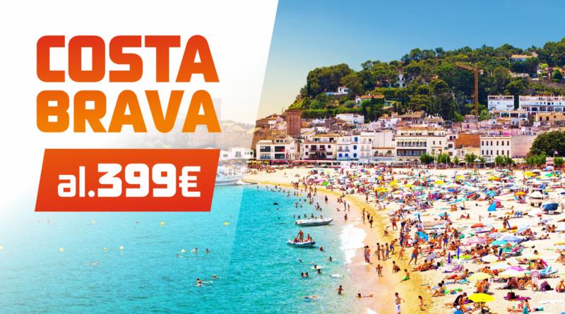 Costa Brava 2017! Hinnad al 399 EUR