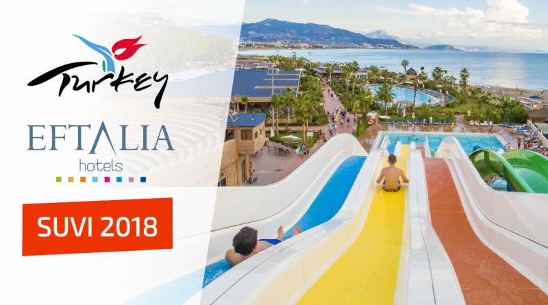 SUVI 2018: Eftalia hotellid Türgis erihinnaga!!