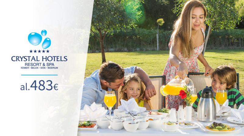 CRYSTAL hotellid! Hinnad al 483 EUR