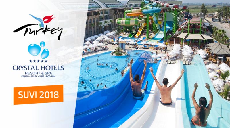 SUVI 2018: CRYSTAL hotellid Türgis!