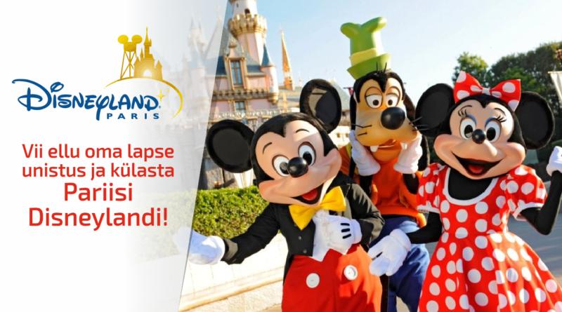 Vii ellu oma lapse unistus ja külasta Pariisi Disneylandi!
