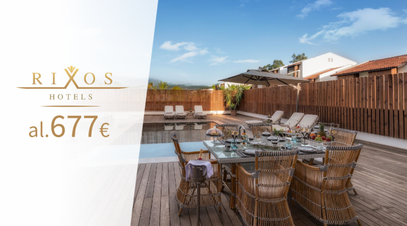 Rixos luksuslikud hotellid! Hinnad al 677 EUR