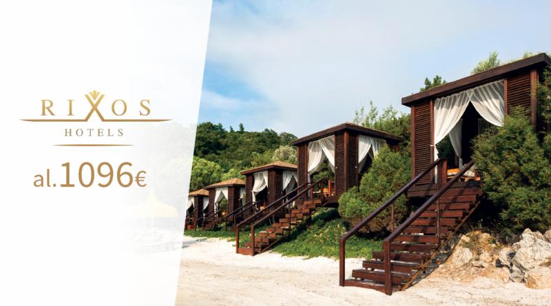 Rixos luksuslikud hotellid! Hinnad al 1096 EUR