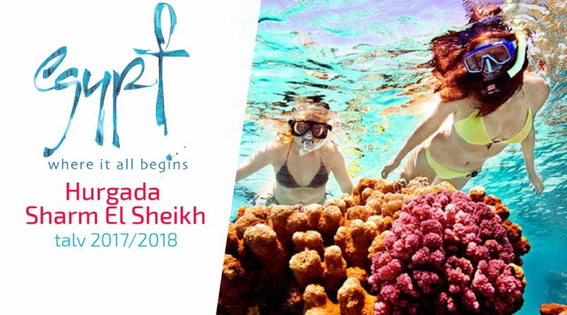 Egiptus : Hurghada ja Sharm El Sheikh talvehooaeg 2017/2018 on avatud!