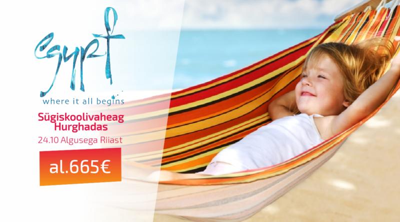 24.10 Hurghada Riiast al 665 EUR