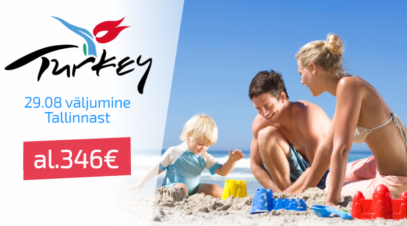 29.08 Türgi , al 346 EUR