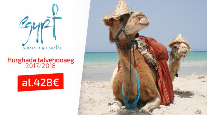 Hurghada 2017/2018 hooaeg, al 428 EUR