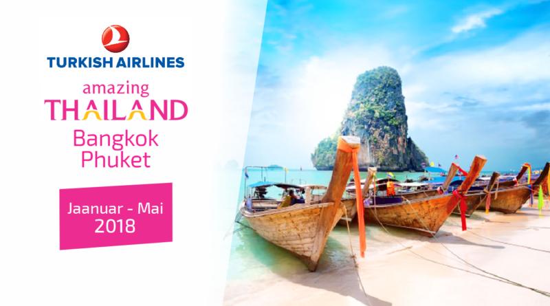 Bangkok (2 ööd) — Phuket (11 ööd), jaanuar — mai 2018