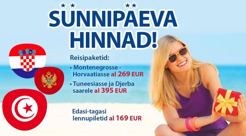 Tuneesia, Montenegro, Horvaatia